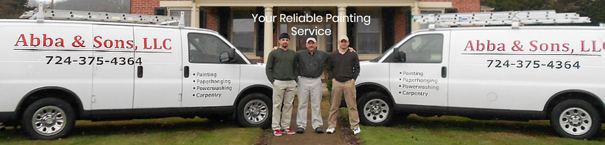 Abba & Sons, LLC Your Reliable Painting Service